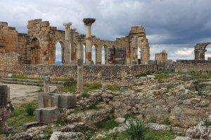 Marrocos Ruinas Romas volubilis